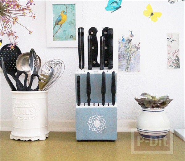 9 mẫu hộp đựng dao đẹp xuất sắc lại cực tiện dùng trong nhà bạn - Ảnh 7.