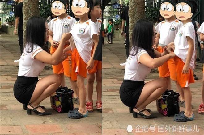 Cô giáo Việt gây sốt trên báo Trung chỉ nhờ một hành động nhỏ rất đáng yêu mà thời đi học ai cũng từng được như thế - Ảnh 2.