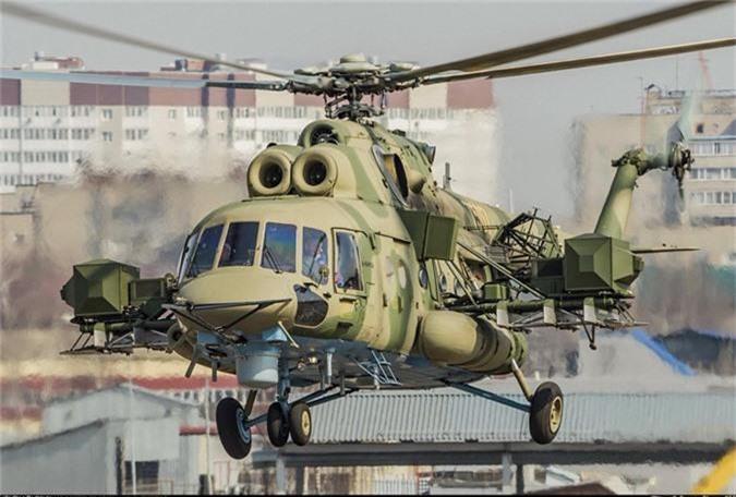 Truc thang Mi-8 mang ky hieu