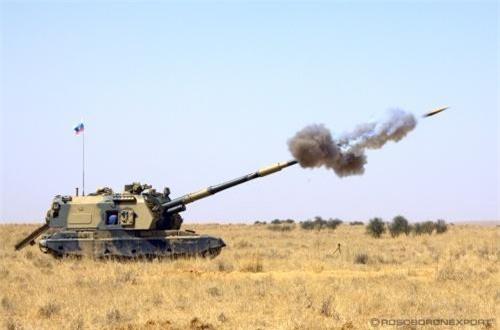 Pháo có thể bắn được đạn đạn thông minh Krasnopol có tầm bắn 20km, độ chính xác đạt tỉ lệ 90%.