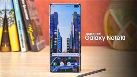 Samsung Galaxy Note 10 sẽ có màn hình giống iPhone X?