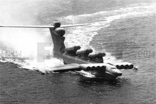 Ekranoplan chiến đấu lớp Lun của Hải quân Liên Xô