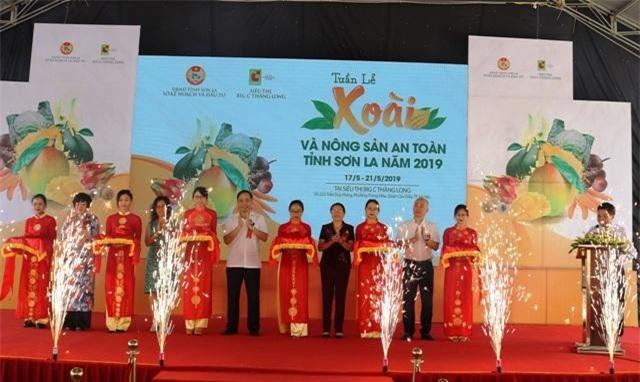 """Tuần lễ Xoài và Nông sản an toàn tỉnh Sơn La năm 2019"""","""