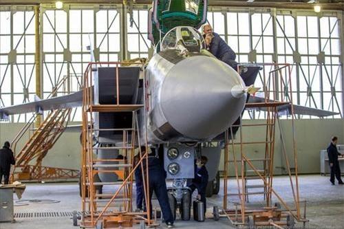 Một chiếc MiG-31 sau khi hoàn thành quá trình hiện đại hóa