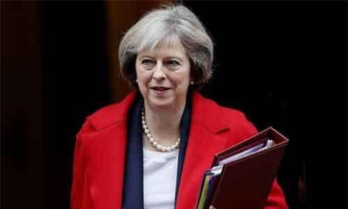 Thủ tướng Anh Theresa May. (Ảnh: AP)