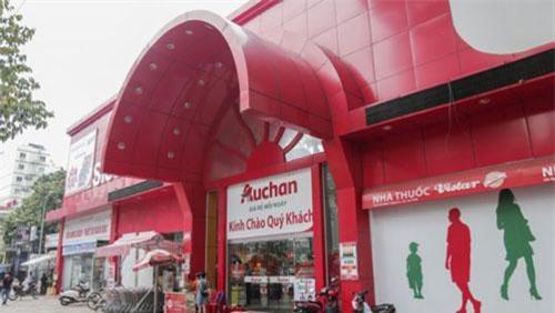 Auchan rút lui khỏi Việt Nam.