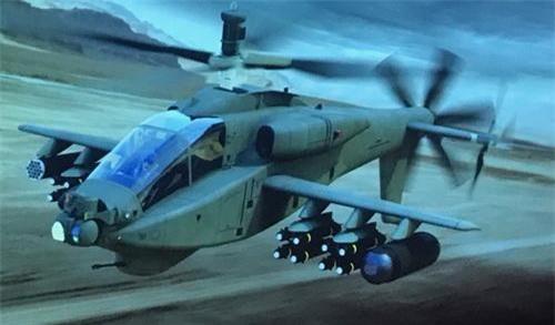 Đồ họa phiên bản siêu tốc của trực thăng tấn công AH-64 Apache