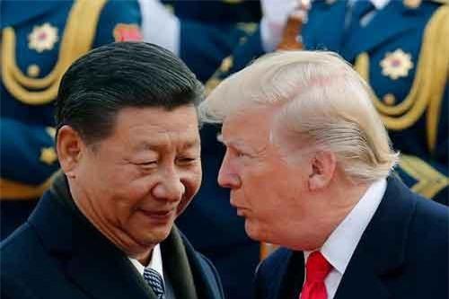 Chủ tịch Trung Quốc Tập Cận Bình và Tổng thống Mỹ Donald Trump. (Ảnh: AP)
