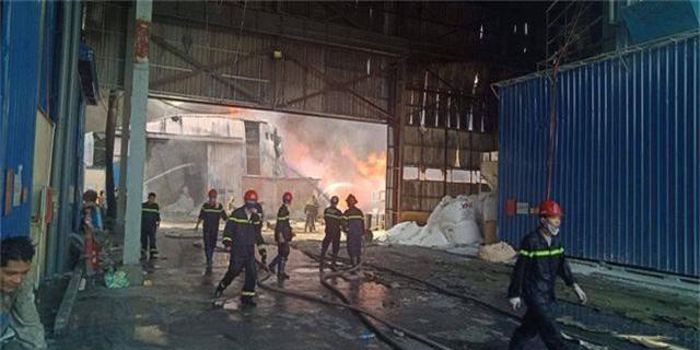 Cháy lớn kho hàng nằm gần cây xăng ở Hải Phòng - 11