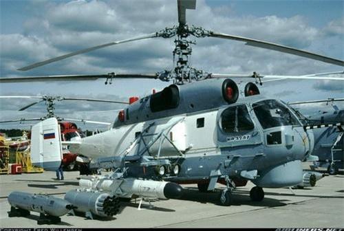 Trực thăng hạm tàu đa dụng Ka-32A7 của Nga