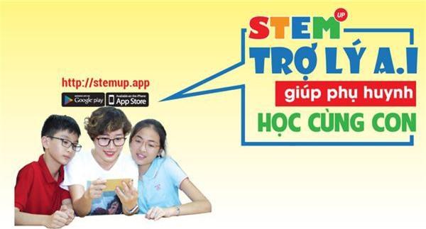 Ứng dụng STEMUP vừa được ra mắt trong ngày hôm nay.