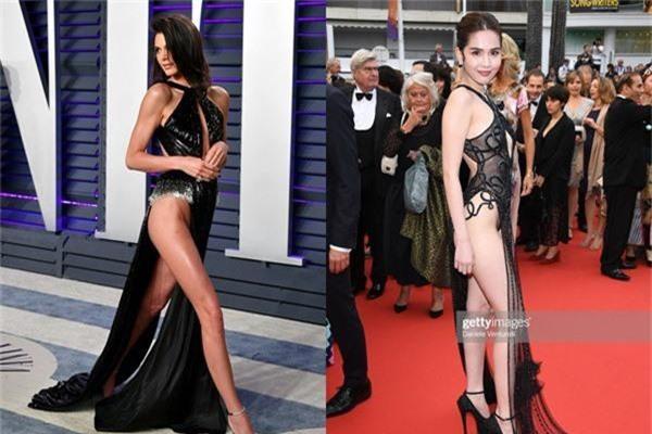 Cũng diện váy hở nguyên vòng 3 nhưng phản ứng của cư dân mạng với Kendall Jenner khác hoàn toàn Ngọc Trinh: Vì đâu nên nỗi? - Ảnh 1.