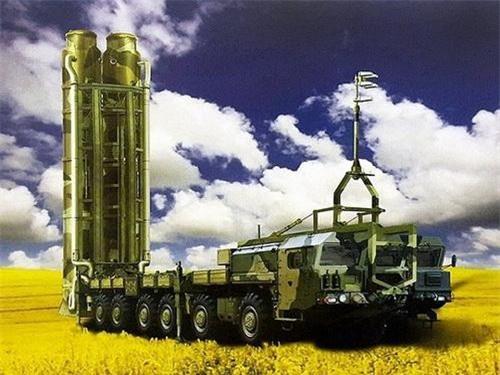 Đồ họa xe mang phóng tự hành của tổ hợp tên lửa phòng không tầm xa S-500 Prometheus