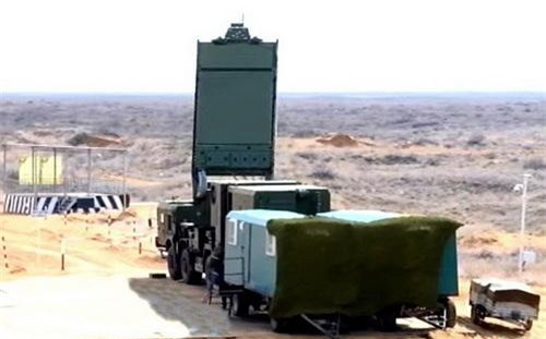 Hình ảnh thực tế hiếm hoi về radar cảnh giới và điều khiển hỏa lực của tổ hợp S-500