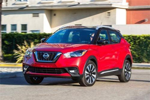 7. Nissan Kicks 2019 (giá khởi điểm: 19.635 USD).