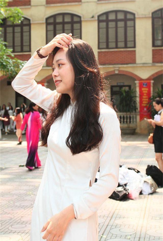 Những nữ sinh xinh đẹp, dễ thương trường Phan Đình Phùng ngày bế giảng - 5