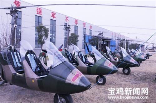 """Ra mắt lần đầu tiên năm 2016, chỉ trong vòng 3 năm, Không quân Lục quân Trung Quốc đã trang bị khoảng 200 chiếc trực thăng siêu nhỏ, siêu nhẹ """"Hunting Eagle"""" (Đại bàng săn mồi)."""