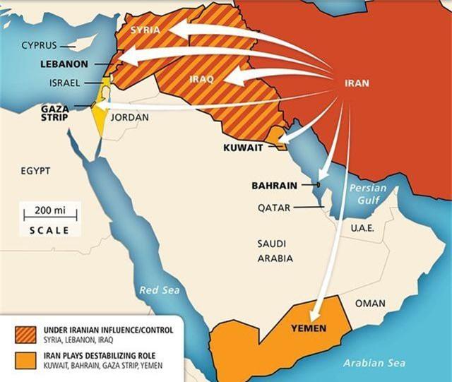 """6 """"cánh tay nối dài"""" giúp Iran phá vòng vây của Mỹ khi xung đột - 3"""
