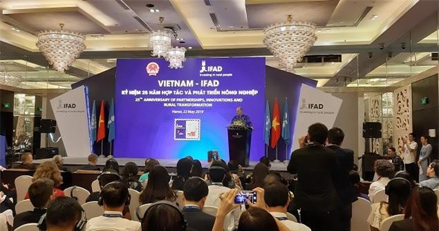 Toàn cảnh lễ kỉ niệm 25 quan hệ đối tác giữa Việt Nam và IFAD.