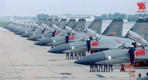 Tiêm kích hạng nặng J-11B của Trung Quốc - bản sao không phép từ Su-27 của Nga