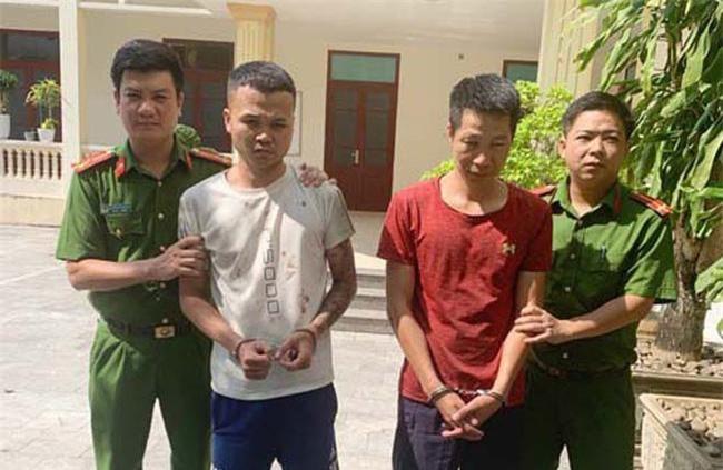 2 đối tượng bị bắt