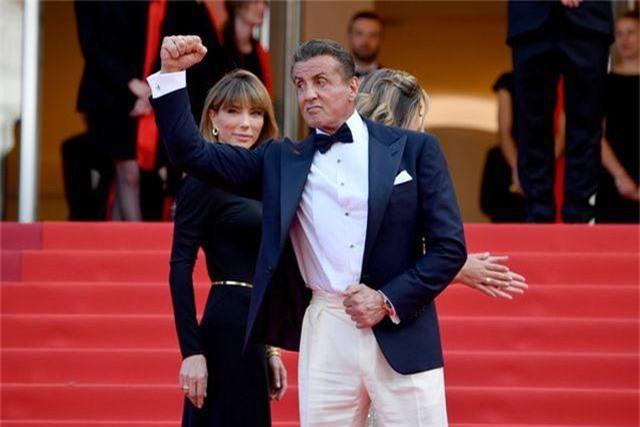 Rambo hạnh phúc cùng vợ con dự LHP Cannes - 8