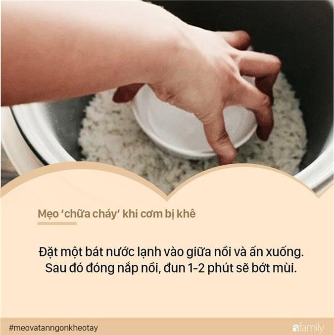 Cứ ngỡ mình nấu cơm ngon nhưng bạn vẫn sẽ há hốc miệng khi biết chùm chữa cháy chuẩn chỉnh này - Ảnh 4.