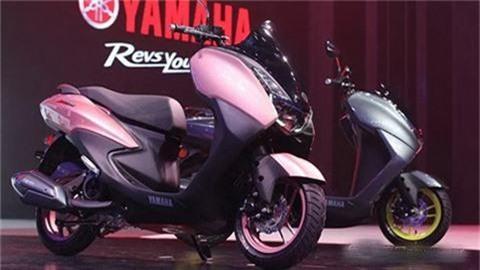 Yamaha tung ra xe tay ga mới đẹp long lanh giá 37 triệu, đối đầu Honda PCX 125