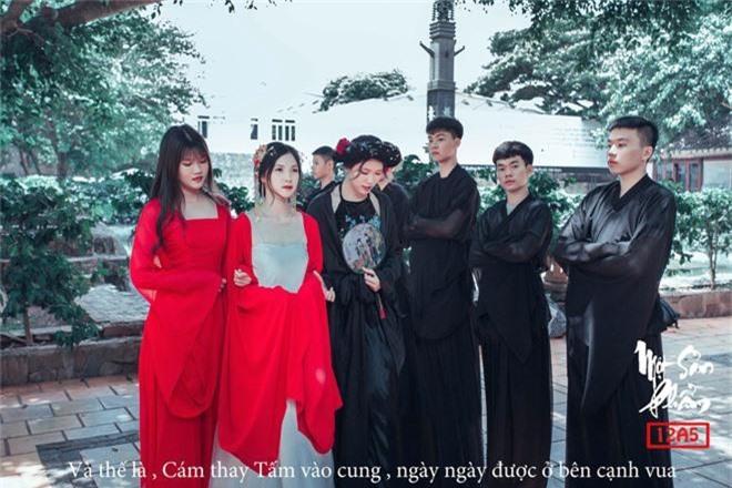 Bộ ảnh kỷ yếu 15 triệu đồng hoá thân vào các nhân vật truyện Tấm Cám đẹp xuất sắc của học sinh Đắk Lắk - Ảnh 12.