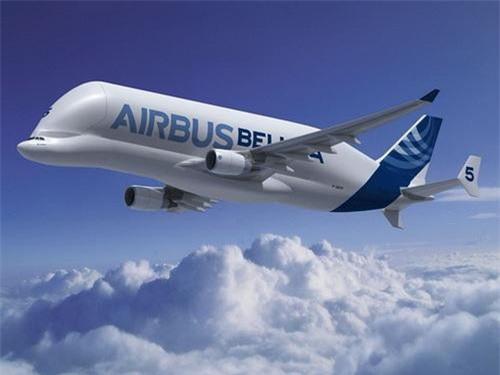Máy bay vận tải hạng nặng Airbus A300-600ST Super Transporter