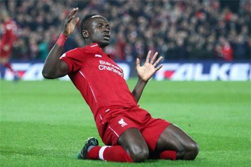 =5. Sadio Mane (Liverpool, 22 bàn - 44 điểm).