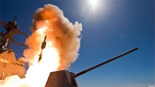 Một vụ bắn thử nghiệm tên lửa phòng không đa năng SM-6