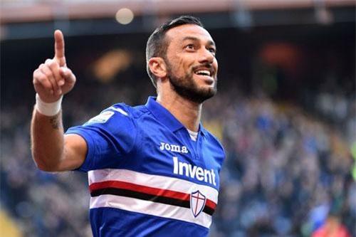 3. Fabio Quagliarella (Sampdoria, 26 bàn - 52 điểm).