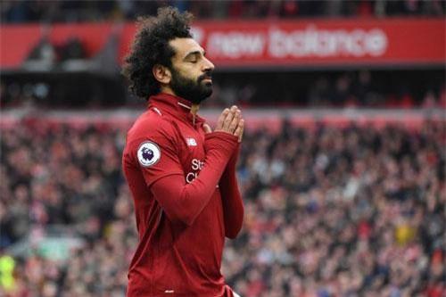 =5. Mohamed Salah (Liverpool, 22 bàn - 44 điểm).