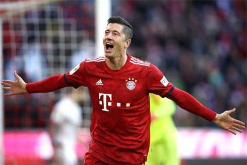 =5. Robert Lewandowski (Bayern Munich, 22 bàn - 44 điểm).