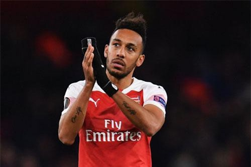 =5. Pierre-Emerick Aubameyang (Arsenal, 22 bàn - 44 điểm).