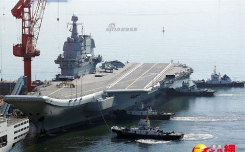Tàu sân bay Type 002 của Hải quân Trung Quốc chuẩn bị vào biên chế chiến đấu