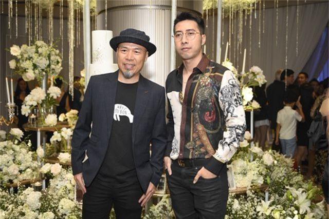 Chồng Thu Minh tháp tùng vợ dự đám cưới nhạc sĩ Dương Khắc Linh - 14