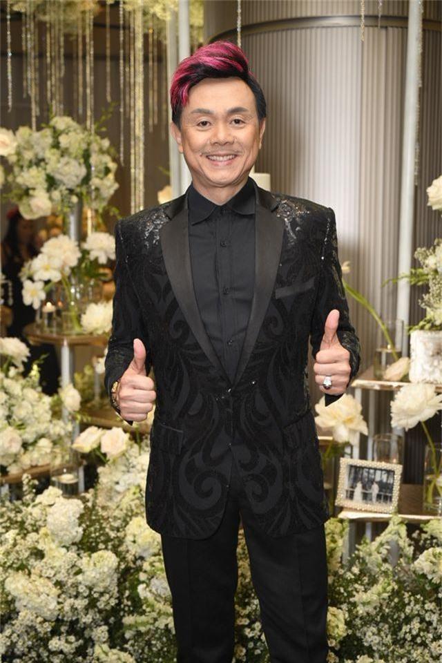 Chồng Thu Minh tháp tùng vợ dự đám cưới nhạc sĩ Dương Khắc Linh - 16