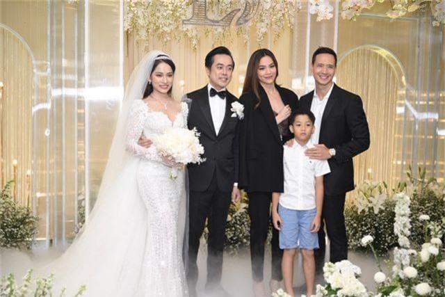 Chồng Thu Minh tháp tùng vợ dự đám cưới nhạc sĩ Dương Khắc Linh - 3