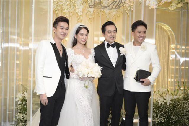 Chồng Thu Minh tháp tùng vợ dự đám cưới nhạc sĩ Dương Khắc Linh - 5