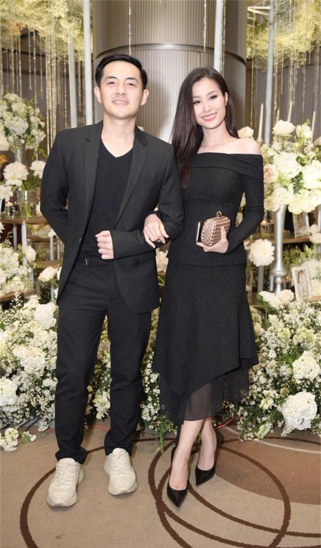 Chồng Thu Minh tháp tùng vợ dự đám cưới nhạc sĩ Dương Khắc Linh - 9