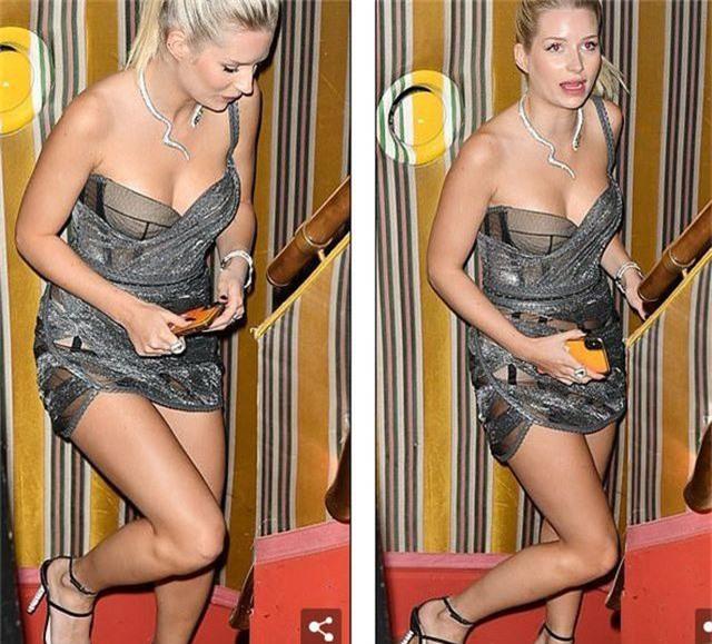 Lottie Moss gợi cảm với váy xuyên thấu - 2