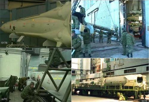 Các loại đạn tên lửa đánh chặn trang bị cho tổ hợp phòng không A-235 Nudol