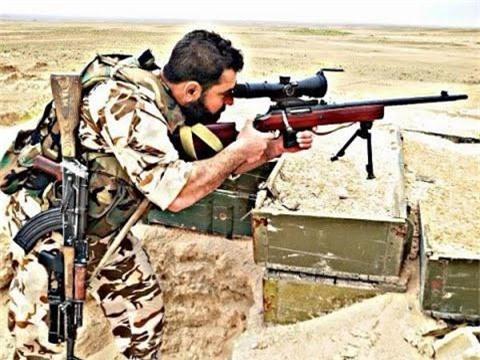 Can canh sung ban tia Nga duoc linh Syria yeu thich