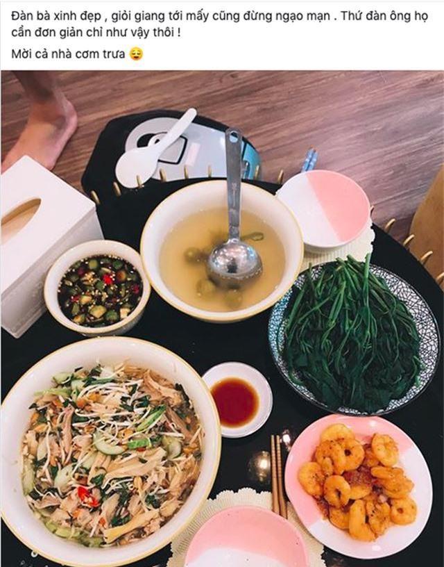 Hoàn hảo như bạn gái cầu thủ Huy Hùng: xinh, giỏi nấu ăn, kiếm tiền, chăm bạn trai - 4