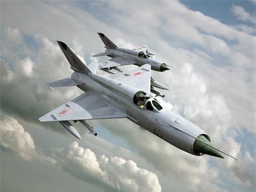 MiG-21 - Tiêm kích đánh chặn tốt nhất của Mikoyan-Gurevich