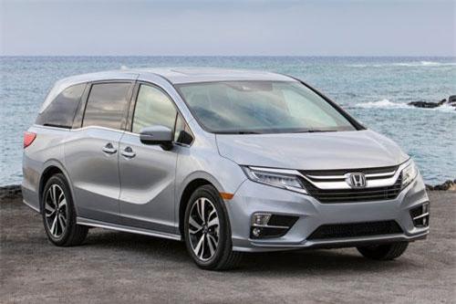 Honda Odyssey (chi phí bảo hiểm: 1.298 USD/năm).