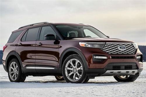 2. Ford Explorer 2020 (giá khởi điểm: 36.675 USD).