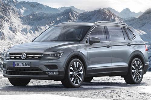 2. Volkswagen Tiguan (doanh số: 35.371 chiếc).